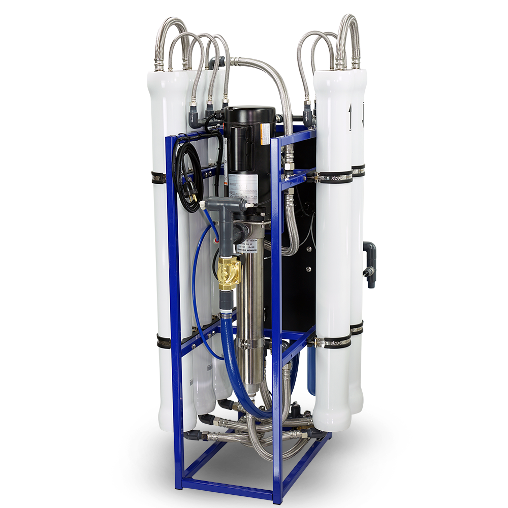 Vesta Commercial 10,000 Gallon RO System Back View